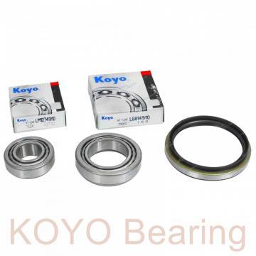 KOYO 6302-2RS deep groove ball bearings
