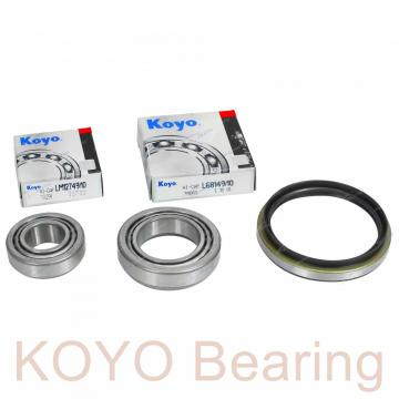 KOYO OB75 deep groove ball bearings