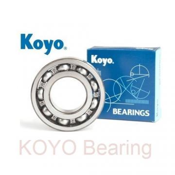 KOYO 6956 deep groove ball bearings