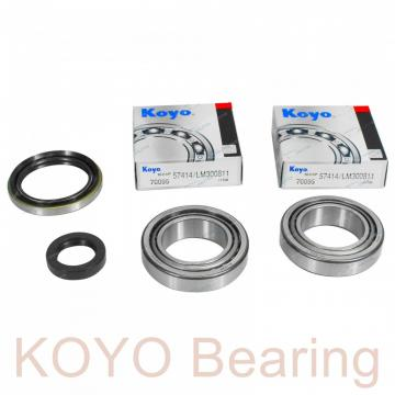 KOYO KAC047 deep groove ball bearings
