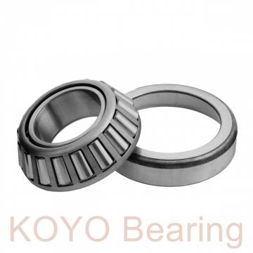 KOYO DC4876VW cylindrical roller bearings