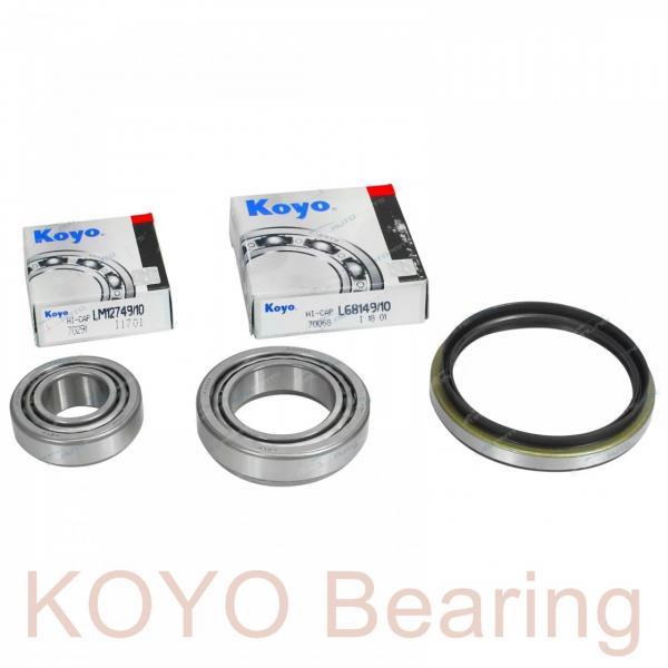 KOYO 3NCHAR008C angular contact ball bearings #1 image