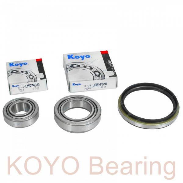 KOYO AX 4 19 32 needle roller bearings #2 image