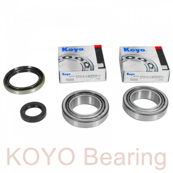 KOYO 3NCHAR008C angular contact ball bearings #2 image