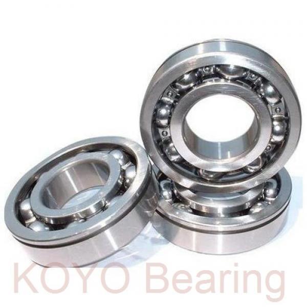 KOYO 6206 2rs Bearing #1 image
