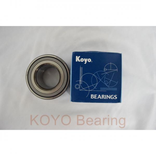 KOYO 6206 2rs Bearing #3 image
